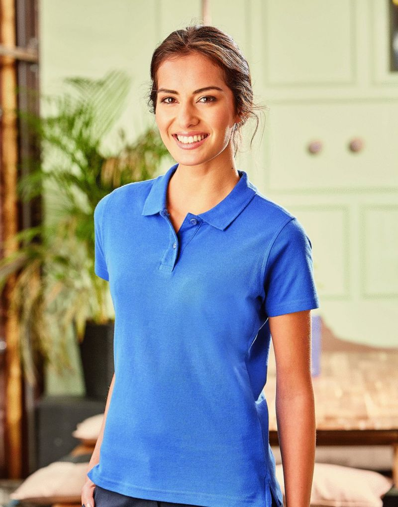 Klassic Ladies Ultimate  Cotton Polo Shirt