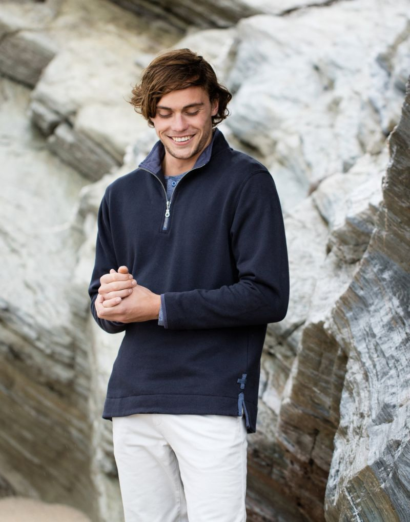 Klassic Super Soft Quarter Zip Sweat