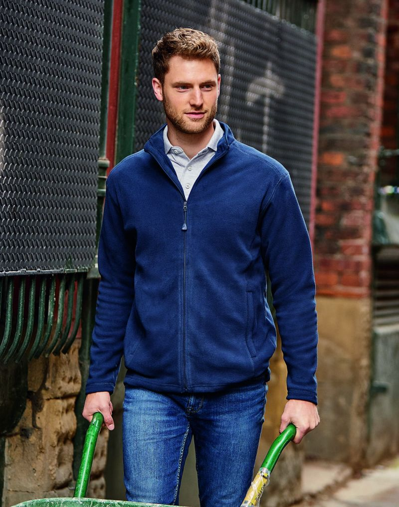 Klassic Mens Full Zip Microfleece