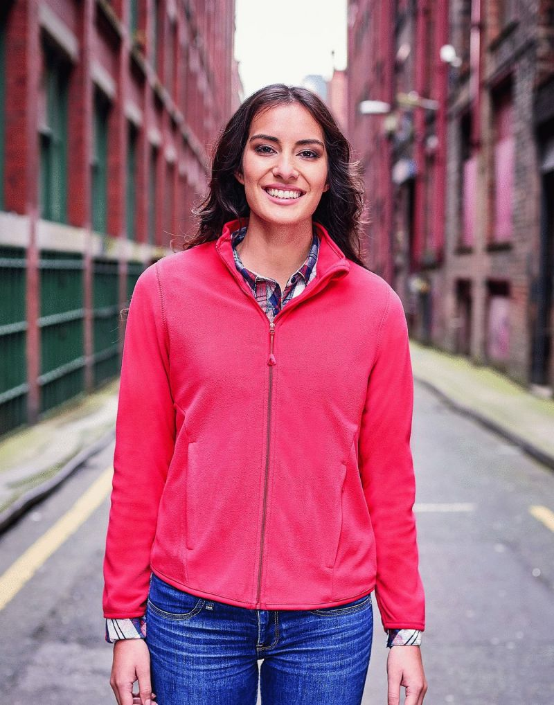 Klassic Ladies Fitted Full Zip Microfleece