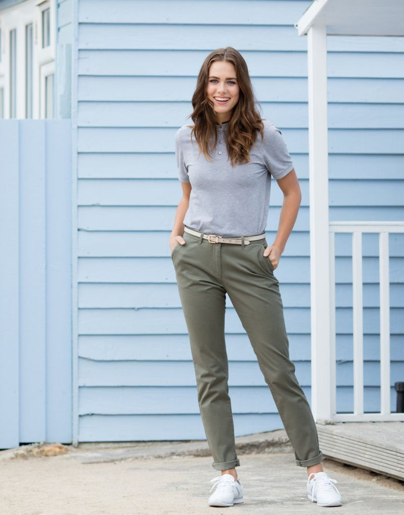 Klassic Ladies Stretch Chino Trousers