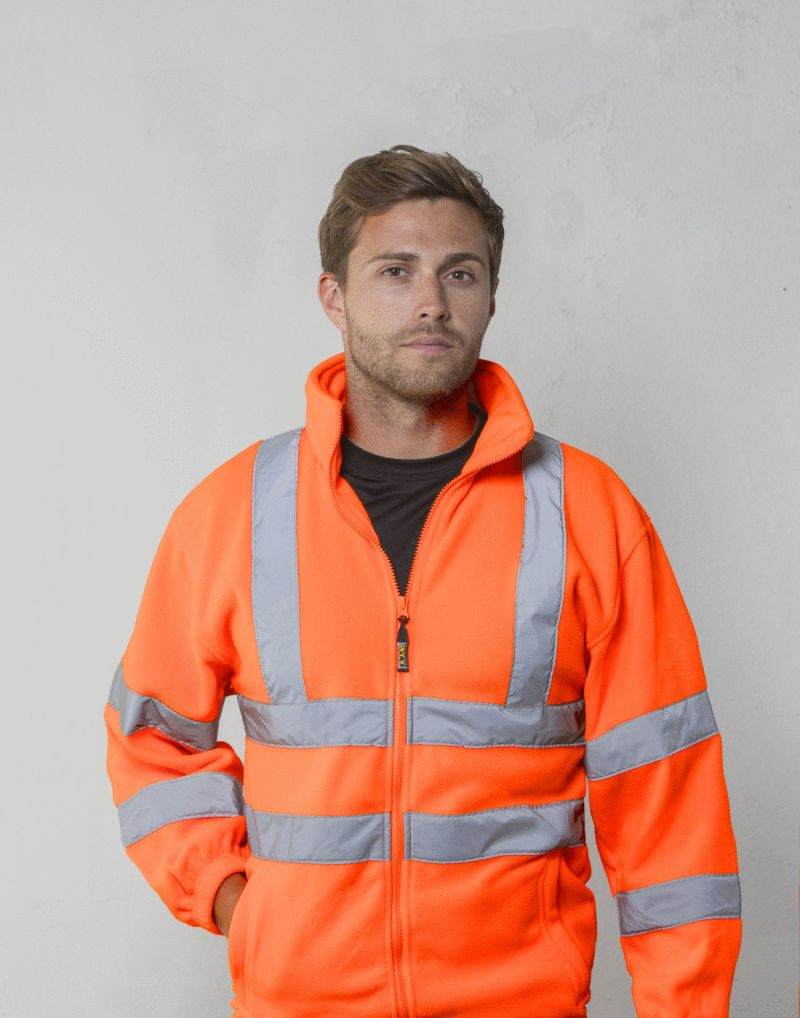 Klassic High Visibility Full Zip Fleece