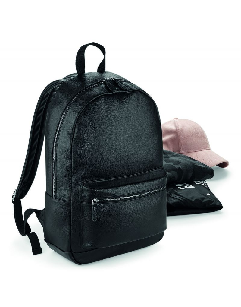 Klassic Faux Leather Fashion Backpack