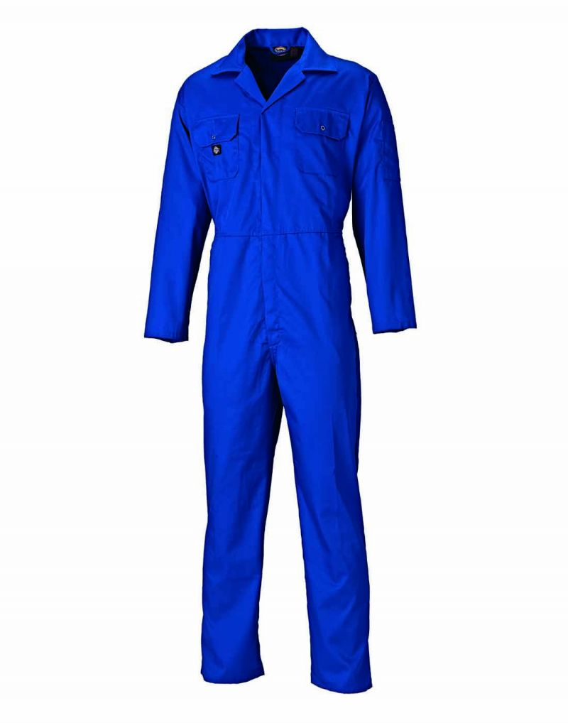 Klassic Contrast Stud Front Coverall