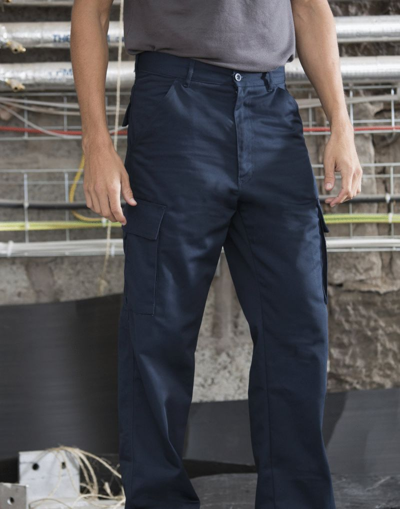 Klassic Polycotton Cargo Trousers