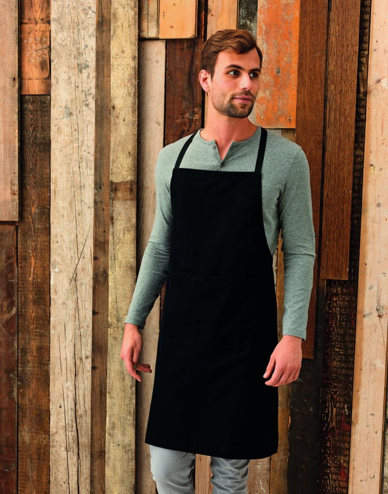 Klassic WORKWEAR Polyester Cotton (with Pocket) Bib Apron