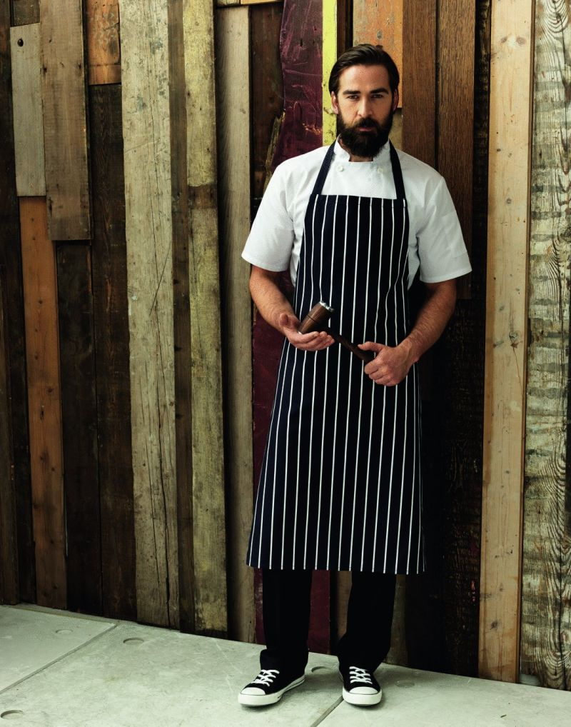 Klassic WORKWEAR Striped Bib Apron