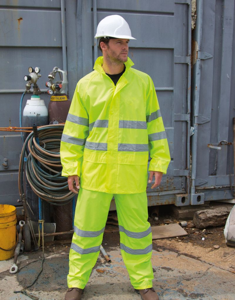 Klassic High Vis Waterproof Suit