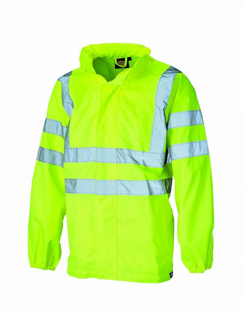Klassic Hi Visibility Waterproof Lightweight Jacket