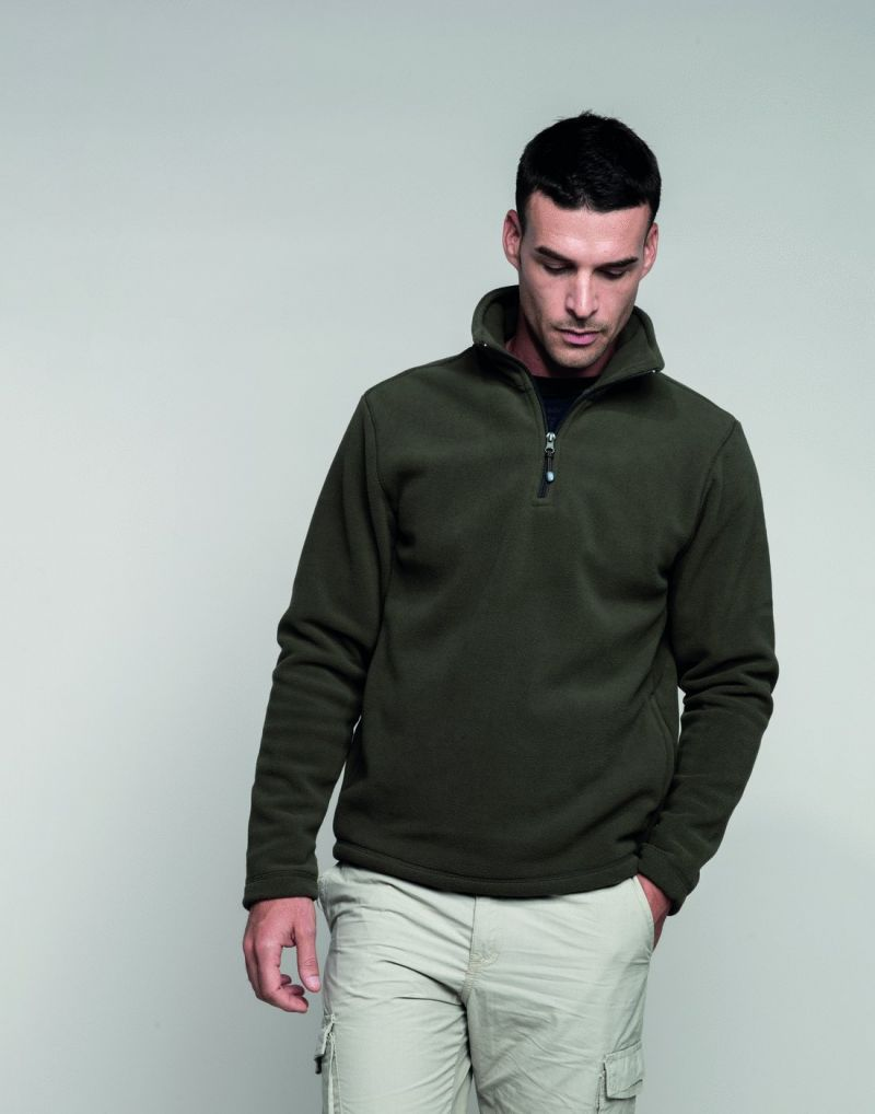 Klassic Enzo Quarter Zip Fleece