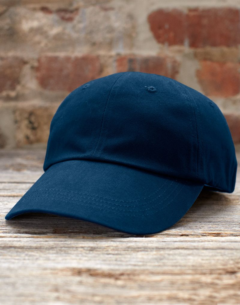 Klassic Solid Low Profile Brushed Twill Cap